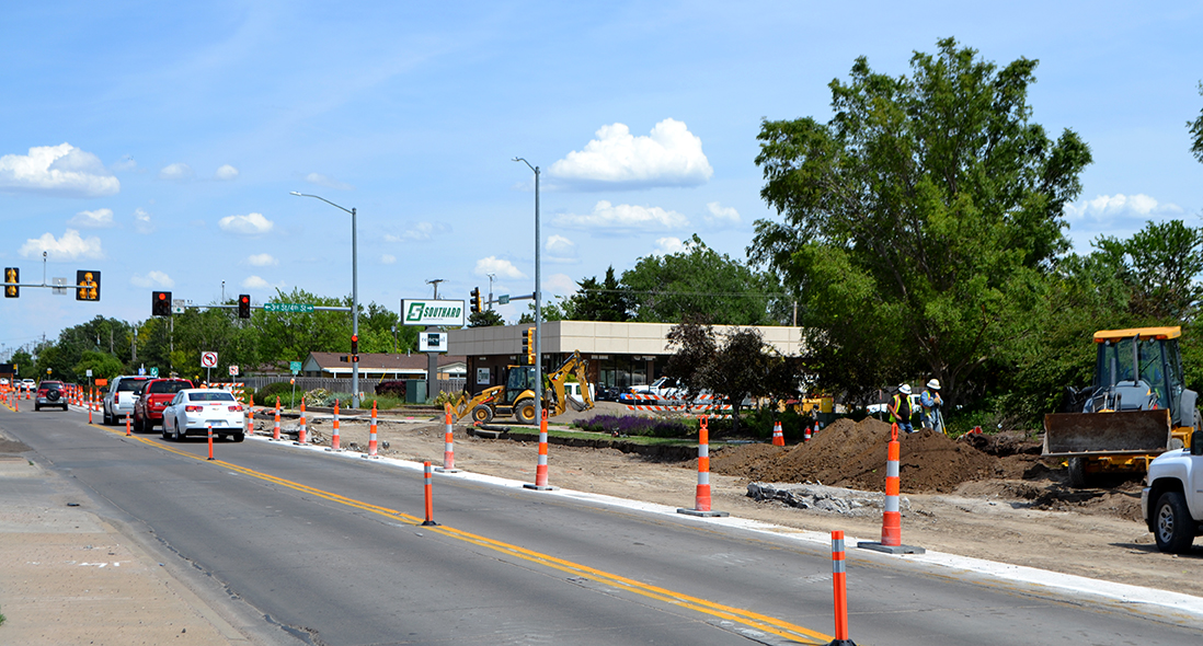 Kansas Avenue Widening 2017