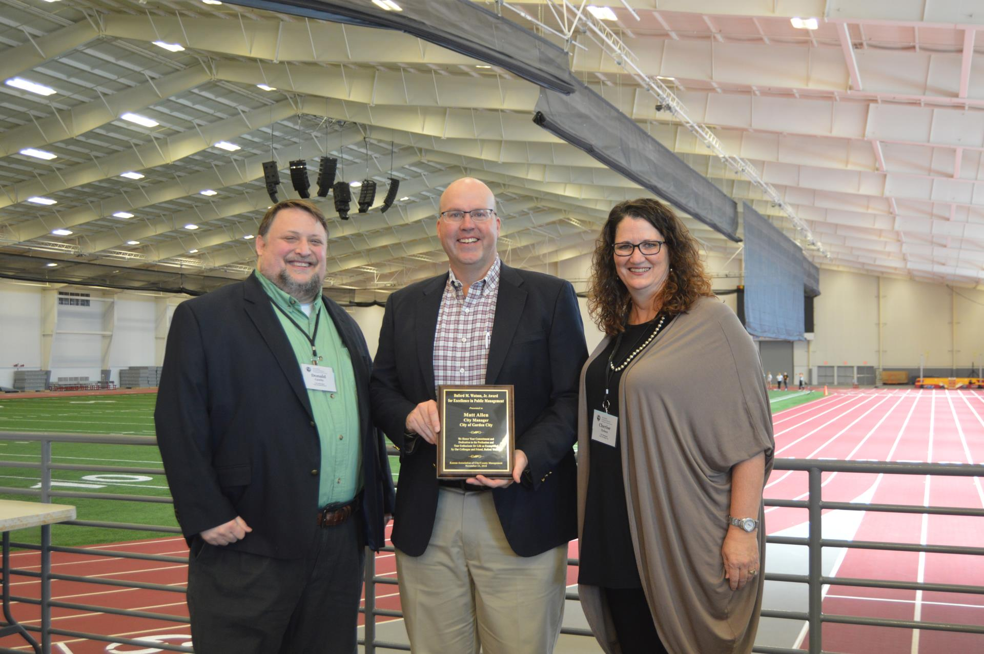 City Manager receives award for excellence in public management