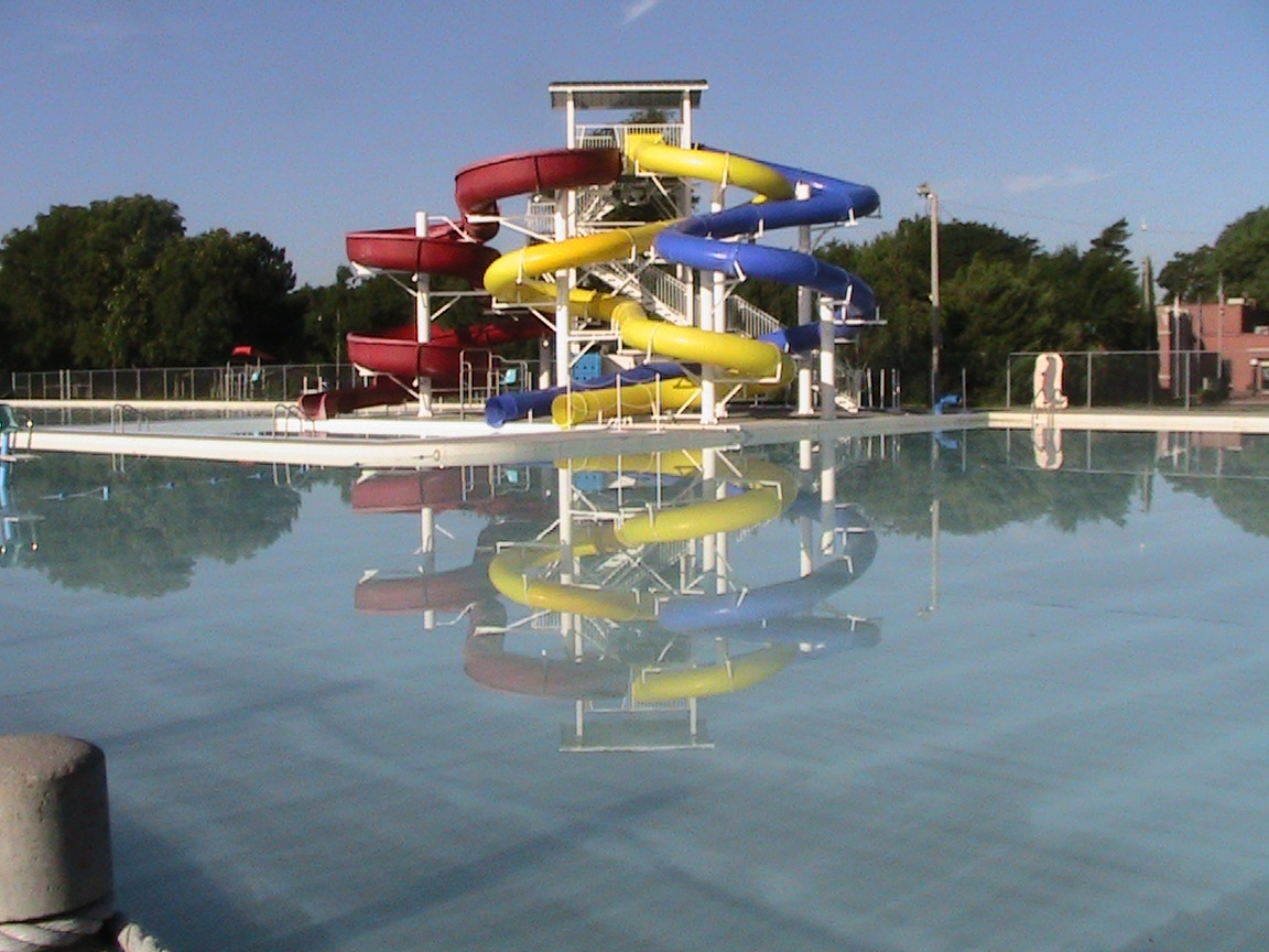 Big Pool Slides
